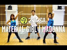 Material Girl | Zumba® Choreography by Mark & Che | Live Love Party - YouTube