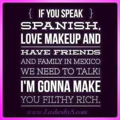 Younique's mission is to uplift, empower, validate, and ultimately build self-esteem in women around the world through high-quality products that encourage both inner and outer beauty. Join Younique, Filthy Rich, 3d Fiber Lash Mascara, Younique Presenter, Best Mascara, Starting Your Own Business, How To Speak Spanish, How To Become, How To Make