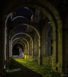 Monastery of Santa María, Rioseco, Burgos, Castile and León, Spain.
