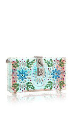 Translucent Shoulder Bag by DOLCE & GABBANA for Preorder on Moda Operandi