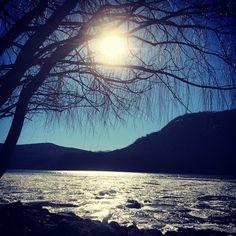 Frozen Hudson #coldspringny #winter #winterwonderland #nature #ilovenewyork