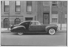 Today in 1935, the Ford Motor Company unveiled the Lincoln-Zephyr, a lower-priced and more modern Lincoln brand. The Zephyr name would be discontinued after automobile production was halted during WWII.