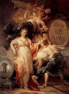 Alegoría de la ciudad de Madrid. 1810. Francisco de Goya