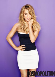 Kaley Cuoco Is Cosmopolitan's May Cover Girl - Kaley Cuoco Is Obsessed With Reading Online Comments - Cosmopolitan