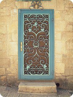 Ironmongery design for the door...love