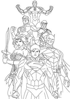 Justice League Coloring Pages. Coloring pages can be a popular exercise by parents at home or academics at university to provide understanding of the alphabets, Superman Coloring Pages, Avengers Coloring Pages, Coloring Pages For Boys, Coloring Pages To Print, Coloring Book Pages, Printable Coloring Pages, Super Hero Coloring Sheets, Boy Coloring, Christmas Coloring Pages