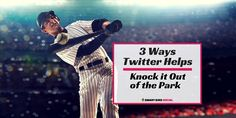 3 BIG Ways Twitter Helps Your Business Knock it Out of the Park http://smartbirdsocial.net/3-big-ways-twitter-helps-your-business/