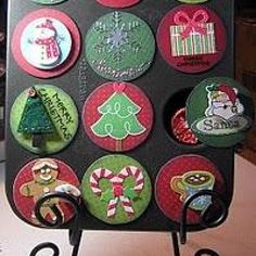 Count Down to the Holidays Muffin Tin Advent Calendar {how-to}