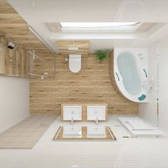 Obklady Royal Place #koupelnygres #3ddesign #bathroomdesign #bathroomvisualization #tubadzin #royalplace Alcove, Bathtub, Bathroom, Places, Bathroom Remodeling, Bathing, Standing Bath, Washroom, Bathtubs
