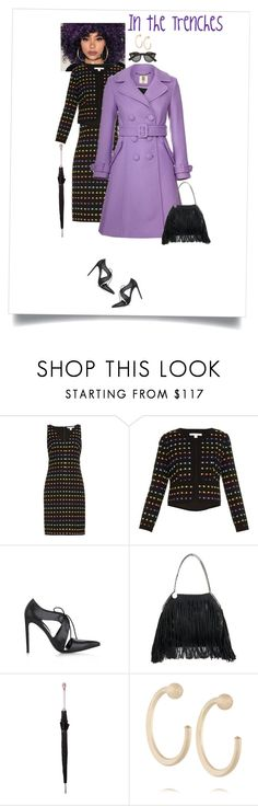 """""""In the Trenches #TrenchCoats"""" by lorihopes ❤ liked on Polyvore featuring Diane Von Furstenberg, Balenciaga, STELLA McCARTNEY, Alexander McQueen, Melissa Joy Manning, Illesteva, women's clothing, women, female and woman"""