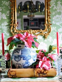 Have yourself a perfectly chinoiserie Christmas….