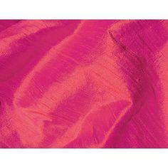Pumpkin Magenta Iridescent Dupioni Silk Fabric