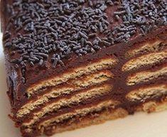 Torta con i biscotti al cioccolato