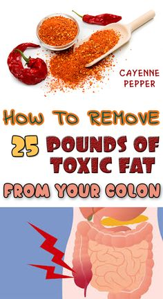 How to Remove 25 Pounds of Toxic Fat from Your Colon