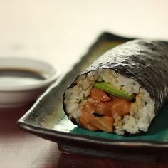 For those times when you don't want to eat sushi delicately.