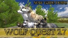 New Wolf Quest Game Demo!! || Wolf Quest 2.7 Demo - YouTube