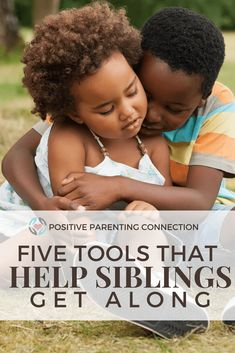 Five positive tools that encourage siblings to get along and to solve conflicts. From the positive parenting workbook.