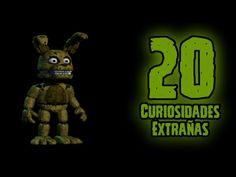 TOP 20: 20 Curiosidades Extrañas De Nightmare En Five Nights At Freddy's 4…