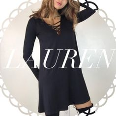 • Reserved • for Lauren • Black XX T-shirt Dress (L) Other