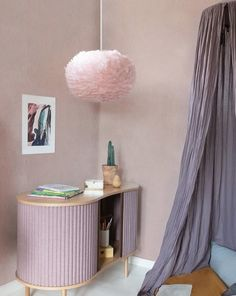The VITA Eos draws its force and mesmerizing beauty from the earth tones of the Nordic landscape. Made from all natural goose feathers, these unique lampshades give a soft, warm light and add a sophisticated and elegant touch to any interior decor. Eos, Goose Feathers, Pink Feathers, Lamp Light, Light Bulb, Feather Lamp, Lampshade Designs, Ceiling Rose, Pallets