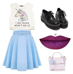 """""""Untitled #14"""" by izad0rab on Polyvore featuring beauty, Forever 21, WithChic and Topshop"""
