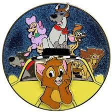 Disney Oliver and Company Beloved Tales Pin