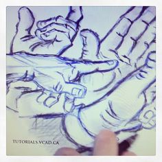 Learn how to draw hands in different positions #learn #howto #draw #drawing #hands #positions #game #humanhands #poses