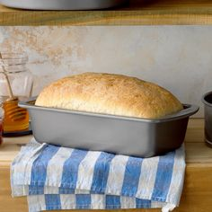 If youd like to learn how to bake bread heres a wonderful place to start. This easy white bread recipe bakes up deliciously golden brown. Theres nothing like the homemade aroma wafting through my kitchen as it bakes. Sandra Anderson New York New York Easy White Bread Recipe, Basic Bread Recipe, Easy Bread Recipes, Baking Recipes, Taste Of Home Bread Recipe, Taste Recipe, Best Homemade Bread Recipe, Homemade Cheese, Tortillas