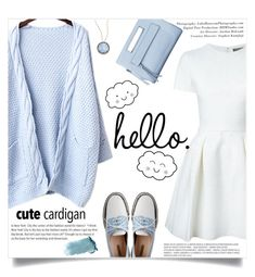 """""""hello"""" by einn-enna ❤ liked on Polyvore featuring Alexander McQueen, Suzanne Kalan and mycardi"""