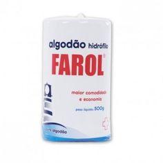 Algodão rolo hidrófilo 500g - Farol BioClassi
