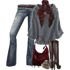 """""""Cape Pullover"""" by melindatg on Polyvore"""