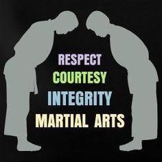 Martial art values #martialarts