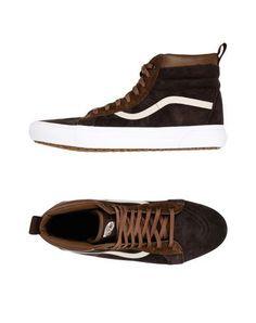 33c2d641a232 Sneakers. Mens High TopsVans ShopVans SneakersVans MenSoft LeatherDark ...