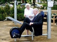 London opens playground for the senior set -