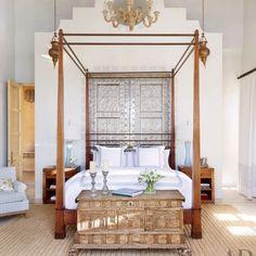 Exotic Bedroom by Marshall Watson Interiors