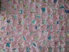 hand made this Baby Girl Rag Quilt! It is pink and white with hearts, teddy bears, stars and more. The back is Pink. It is made out of new fleece. It is 26 x 26 inches. Girls Rag Quilt, Country Quilts, Handmade Baby, Making Out, Teddy Bears, Pink, Blog, Hearts, Ebay