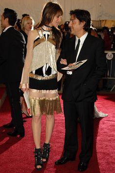 Charlotte Gainsbourg in Balenciaga (2007, Poiret)