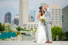 Courtney + Preston | Wedding Ceremony & Reception. Photos by Jamie Sangar Photography. #IndianaStateMuseum