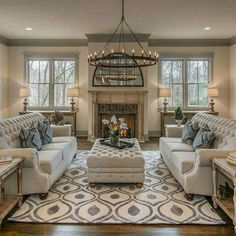 French Country Living Room Design And Decor Ideas 42