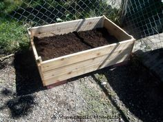 A Minneapolis Homestead: How to Make an Easy Inexpensive Wood Planter