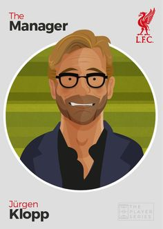 #LFC designer @davewi11 has released this Jürgen Klopp postcard today ahead of his first game as Reds boss