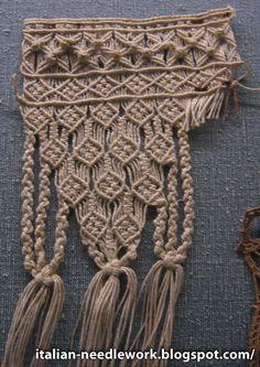 Italian Needlework: Macrame Fringes