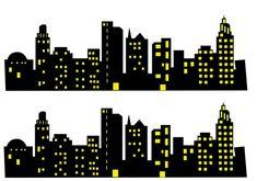 Faixa lateral Prédios ♥ Avengers Birthday, Batman Birthday, Batman Party, Superhero Clipart, Superhero Cake, Festa Pj Masks, Cupcake Toppers Free, Fondant Figures Tutorial, Batman Poster