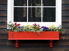 to Build a Wooden Window Box for Flowers (With Plans!) How to Build a Wooden Window Box for Flowers (With Plans!) - Popular MechanicsHow to Build a Wooden Window Box for Flowers (With Plans! Wood Window Boxes, Window Box Flowers, Wooden Windows, Flower Boxes, Window Ideas, Outdoor Pergola, Wooden Pergola, Pergola Plans, Outdoor Swings