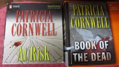 PATRICIA CORNWELL Lot of 2 Audio Book of the Dead/At Risk CD Unabridged