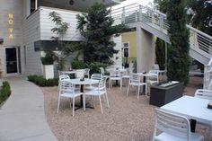 Chaises empilables pour terrasse de bar - Sledge