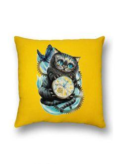Подушка декоративная Чеширский кот купить онлайн у производителя.