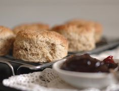 Recipe: Spelt & Buckwheat Scones Use coconut oil instead of butter