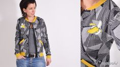 BLOUSONjacke • Blouson • Jacke • Nähanleitung + Schnittmuster • leni pepunkt • nähen • sewing pattern •  jacket