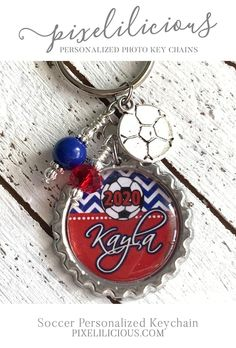 Items similar to Soccer Personalized Keychain Custom Key Chain Soccer Team Gift Soccer Coach Gift Sports Key Ring Soccer Bag Tag Personalize Key Fob Keyfob on Etsy Soccer Coach Gifts, Gifts For Sports Fans, Handmade Gifts For Men, Gifts For Dad, Soccer Coaching, Cheap Gifts, Soccer Season, Boyfriend Gifts, Just In Case